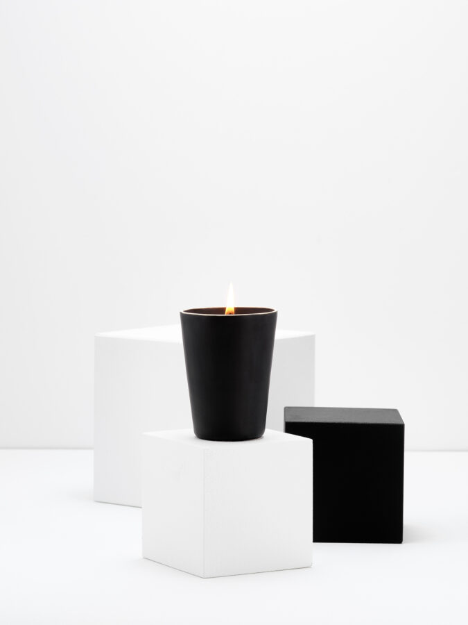 Shades of eternity small candle
